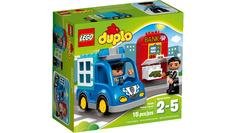 Конструктор Lego Duplo Полицейский патруль 10809