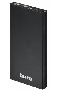 Аккумулятор Buro Power Bank 12000mAh Black RA-12000-AL-BK