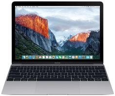 Ноутбук APPLE MacBook 12 Space Grey MNYF2RU/A (Intel Core m3 1.2 GHz/8192Mb/256Gb/Intel HD Graphics 615/Wi-Fi/Bluetooth/Cam/12.0/2304x1440/macOS Sierra)