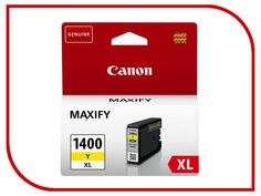 Картридж Canon PGI-1400Y XL Yellow для MAXIFY МВ2040/МВ2340 9204B001