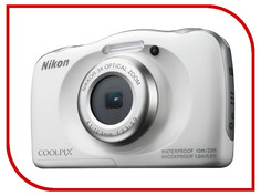 Фотоаппарат Nikon Coolpix W100 White