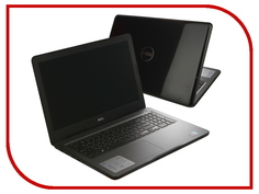 Ноутбук Dell Inspiron 5565 5565-0576 (AMD A6-9200 2.0 GHz/4096Mb/500Gb/DVD-RW/AMD Radeon R5 M435 2048Mb/Wi-Fi/Bluetooth/Cam/15.6/1366x768/Linux)