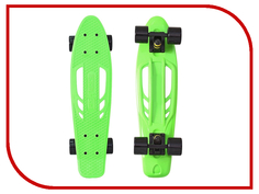 Скейт Y-SCOO Skateboard Fishbone 22 Green-Black 405-G