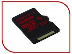 Карта памяти 128Gb - Kingston - Micro Secure Digital XC UHS-I Class 10 SDCA3/128GBSP