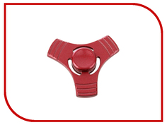 Спиннер Aojiate Toys Finger Spinner Metal with Lines Red RV573