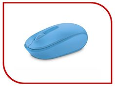 Мышь Microsoft Wireless Mobile Mouse 1850 USB Cyan Blue U7Z-00058
