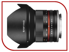 Объектив Samyang Sony E NEX MF 12 mm F/2.0 NCS CS Black