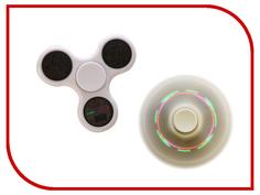 Спиннер Fidget Spinner / Red Line B1 световой узор пластик White