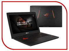 Ноутбук ASUS ROG GL502VY-FY119T 90NB0BJ1-M01410 (Intel Core i7-6700HQ 2.6 GHz/16384Mb/1000Gb + 256Gb SSD/No ODD/nVidia GeForce GTX 980M 8192Mb/Wi-Fi/Cam/15.6/1920x1080/Windows 10 64-bit)