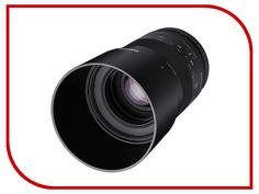 Объектив Samyang Sony E NEX MF 100 mm F/2.8 ED UMC Macro