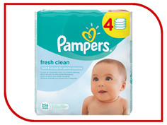 Салфетки Pampers Fresh Clean 4х64 4015400622734