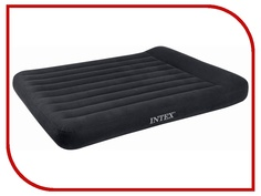 Надувной матрас Intex Full Pillow Rest 137x191x23x30cm + насос 66780