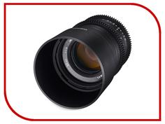 Объектив Samyang Canon M 50 mm T1.3 AS UMC CS