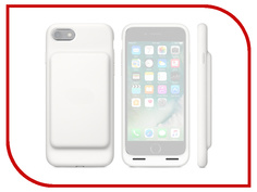 Аксессуар Чехол-аккумулятор APPLE iPhone 7 Smart Battery Case White MN012ZM/A