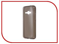 Аксессуар Чехол-накладка Gecko for Samsung Galaxy J1 J120F 2016 силиконовый Transparent Black S-G-SGJ1-2016-BL