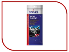 Салфетки влажные Nekker Auto Plastic Cleaning Wet Wipes VSK-00061096 для ухода за пластиком