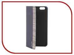 Аксессуар Чехол-накладка Stone Age Jungle Collection Wood Skin for iPhone 6 Plus Blue W8584