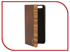 Аксессуар Чехол Stone Age Jungle Collection Wood Skin для iPhone 6 Plus кожа Brown W8582