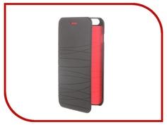 Аксессуар Чехол-книжка MOMAX Elite Case для iPhone 6 Plus FDAPIP6LBD Black