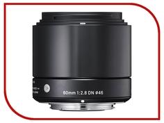 Объектив Sigma Micro 4/3 AF 60 mm F/2.8 DN ART for Micro Four Thirds Black