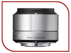 Объектив Sigma Sony E AF 19 mm F/2.8 DN ART for NEX Silver
