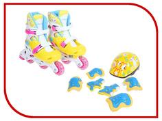 Коньки Onlitop 38-41 Yellow-Blue 1231413
