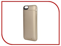 Аксессуар Чехол-аккумулятор Mophie Juice Pack for iPhone 6 Plus Gold 2600 mAh 3086-JP-IP6P-GLD