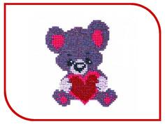 Набор для творчества Бисеринка Мишка для вышивания бисером Б-0003