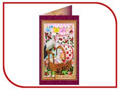 Набор для творчества АбрисАрт С новорожденной для вышивания АО-012