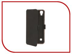 Аксессуар Чехол LG X Style SkinBox Style Prime Book Black T-P-LXS-05