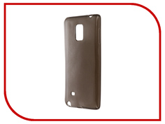 Аксессуар Чехол Samsung Galaxy Note Edge SM-N915F Krutoff Transparent-Black 11492