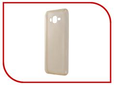 Аксессуар Чехол Samsung SM-G532F Galaxy J2 Prime Zibelino Ultra Thin Case Gold ZUTC-SAM-J2-PRM-GLD