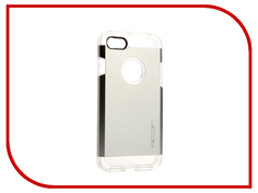 Аксессуар Чехол Spigen SGP Tough Armor для APPLE iPhone 7 Silver 042CS20672