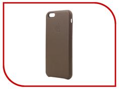 Аксессуар Чехол Krutoff Leather Case для iPhone 6/6S Dark Brown 10756