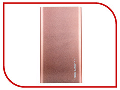 Аккумулятор Red Line J01 Power Bank 4000mAh Rose Gold