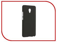 Аксессуар Чехол Meizu M3E SkinBox Shield 4People Black T-S-MM3E-002