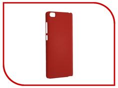 Аксессуар Чехол Xiaomi Mi Note SkinBox 4People Red T-S-XMN-002