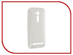 Аксессуар Чехол ASUS ZenFone Go ZB500KL SkinBox Slim Silicone 4People Transparent T-S-AZB500KL-005