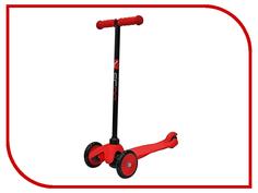 Самокат Y-SCOO Mini Simple A-5 Red с цветными колесами