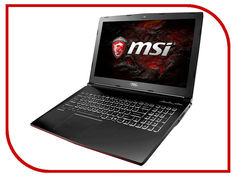 Ноутбук MSI GP62M 7RD-661RU 9S7-16J972-661 (Intel Core i7-7700HQ 2.8 GHz/8192Mb/1000Gb/nVidia GeForce GTX 1050 2048Mb/Wi-Fi/Bluetooth/Cam/15.6/1920x1080/Windows 10 64-bit)