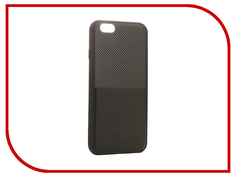 Аксессуар Чехол Dotfes G02 Carbon Fiber Card Case для APPLE iPhone 6 Plus/6s Plus Black 47057