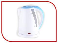 Чайник Добрыня DO-1225 White-Light Blue