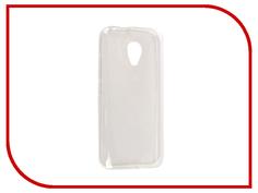 Аксессуар Чехол Fly FS407 Stratus 6 SkinBox Silicone Case Transparent T-S-FFS407-005