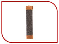 Когтеточка Царапка ковролиновая с мехом 44x9cm А122