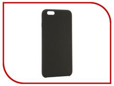 Аксессуар Чехол BROSCO Soft Rubber для APPLE iPhone 6 Plus Grey IP6P-SOFTRUBBER-GREY
