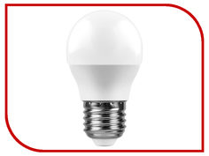 Лампочка Feron LB-550 9W 230V E27 6400K G45 25806