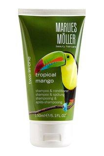 Шампунь-кондиционер «Тропический манго» 150ml Marlies Moller