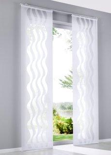 Японская штора Варадеро (1 шт.), Шина с лентой велкро (белый) Bonprix