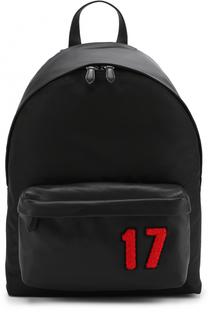 Текстильный рюкзак с контрастной отделкой Givenchy