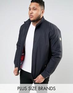 Темно-синяя куртка Харрингтон Duke PLUS - Темно-синий